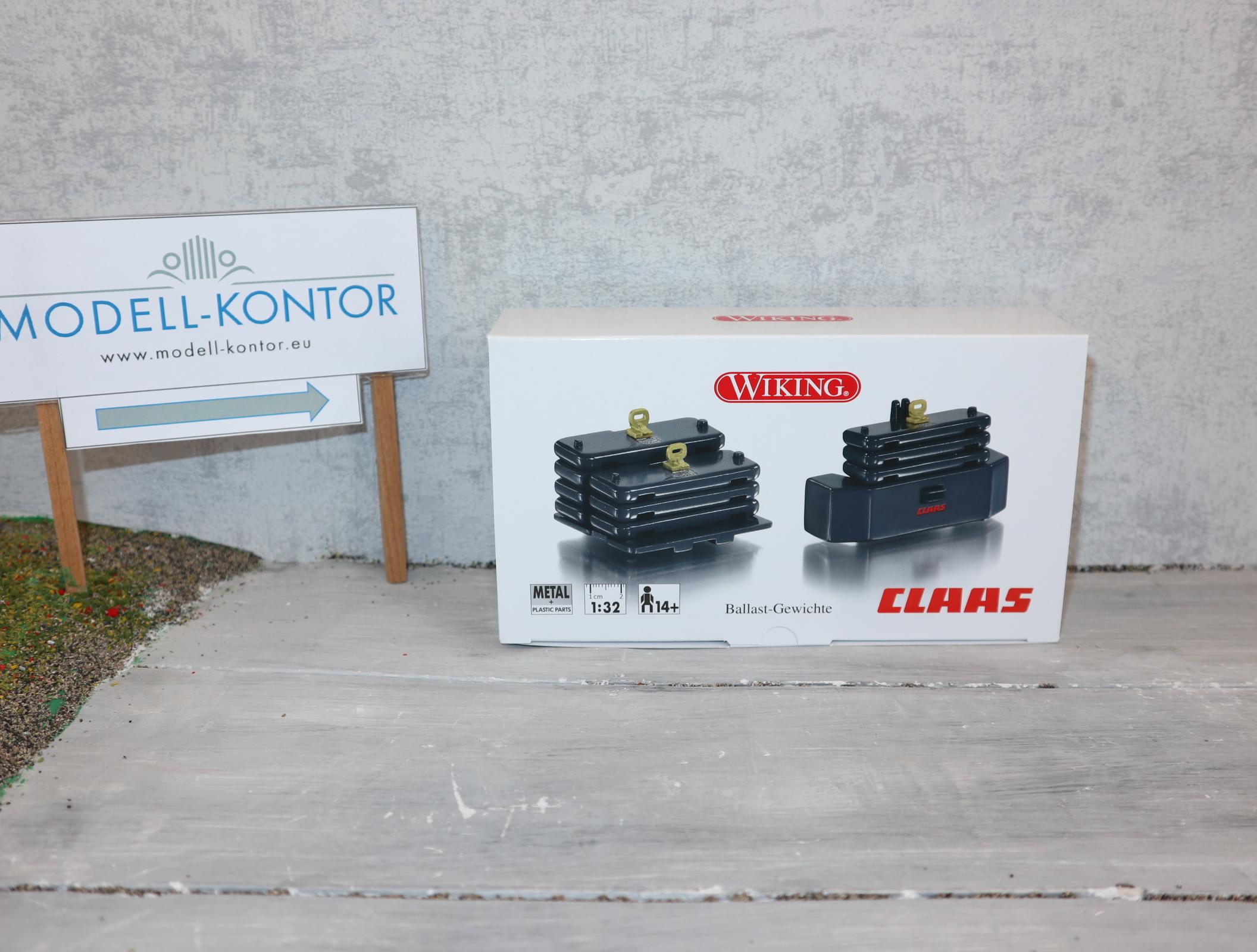 WIKING 077855 in 1:32 Ballast-Gewicht für Claas Xerion 4500