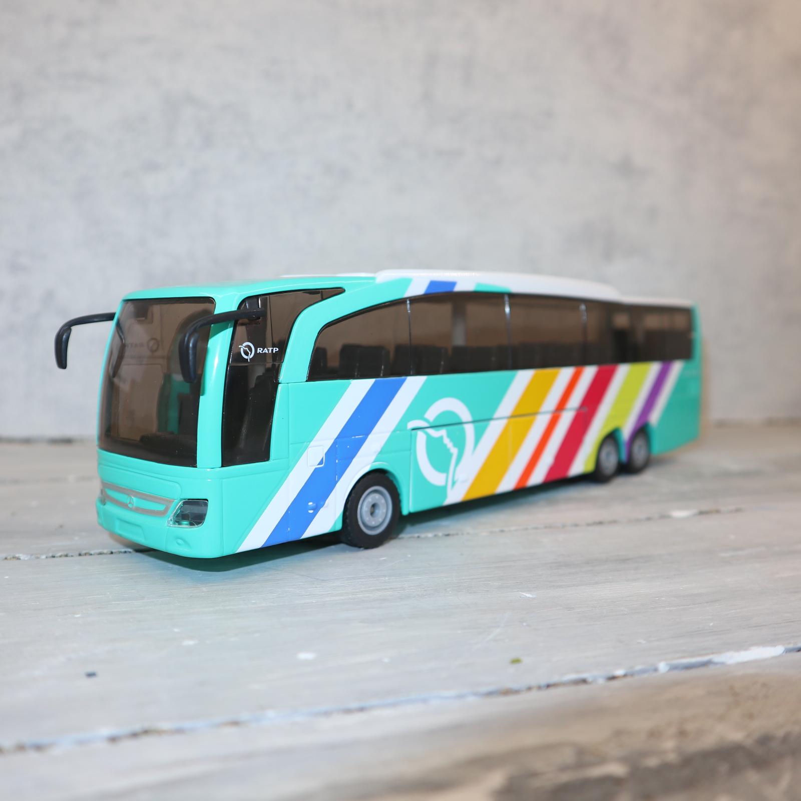 Siku 3738 in 1:50 Reisebus MB Sondermodell aus Frankreich RATP , Neu in OVP