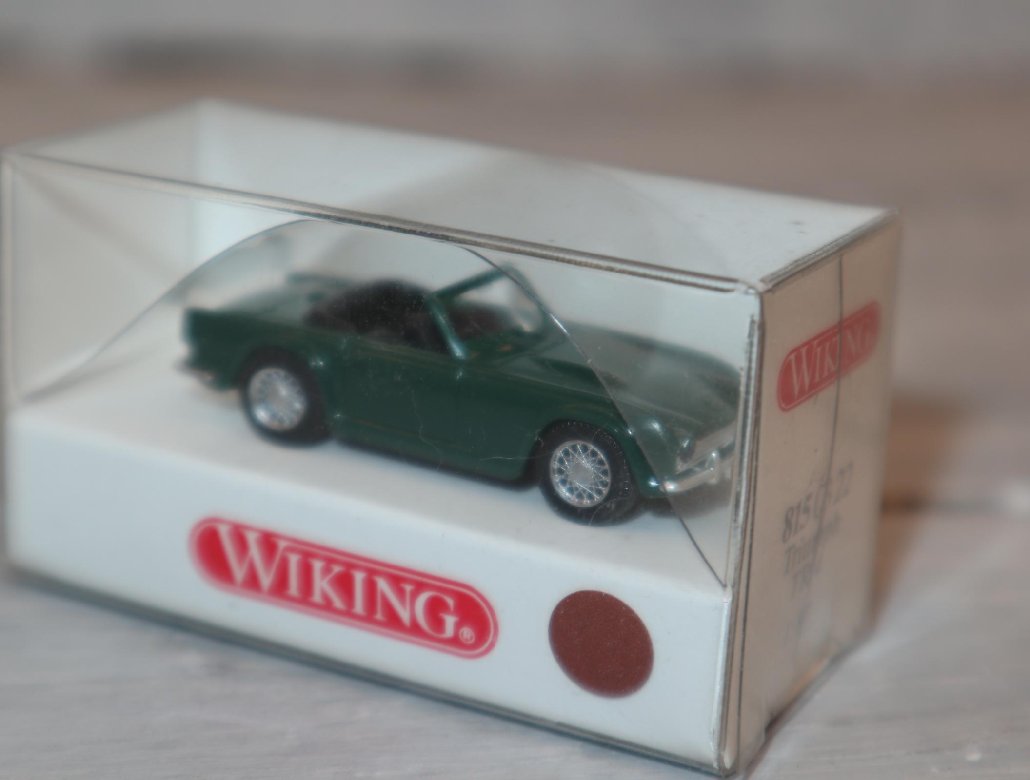 Wiking 8150322 1:87 Triumph TR4 grün OVP