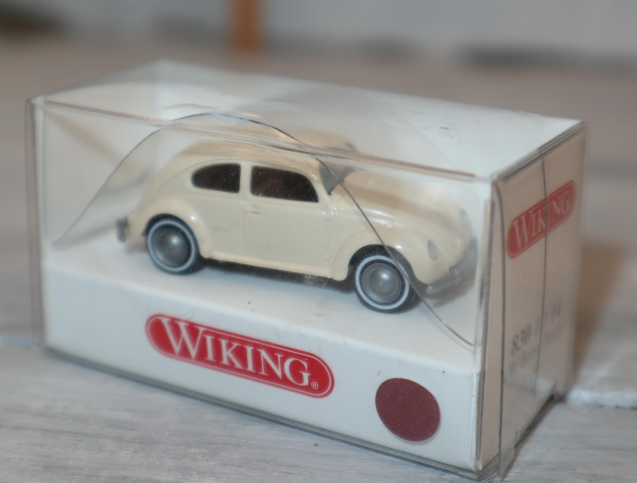 Wiking 8301014 1:87 VW Brezelkäfer beige OVP