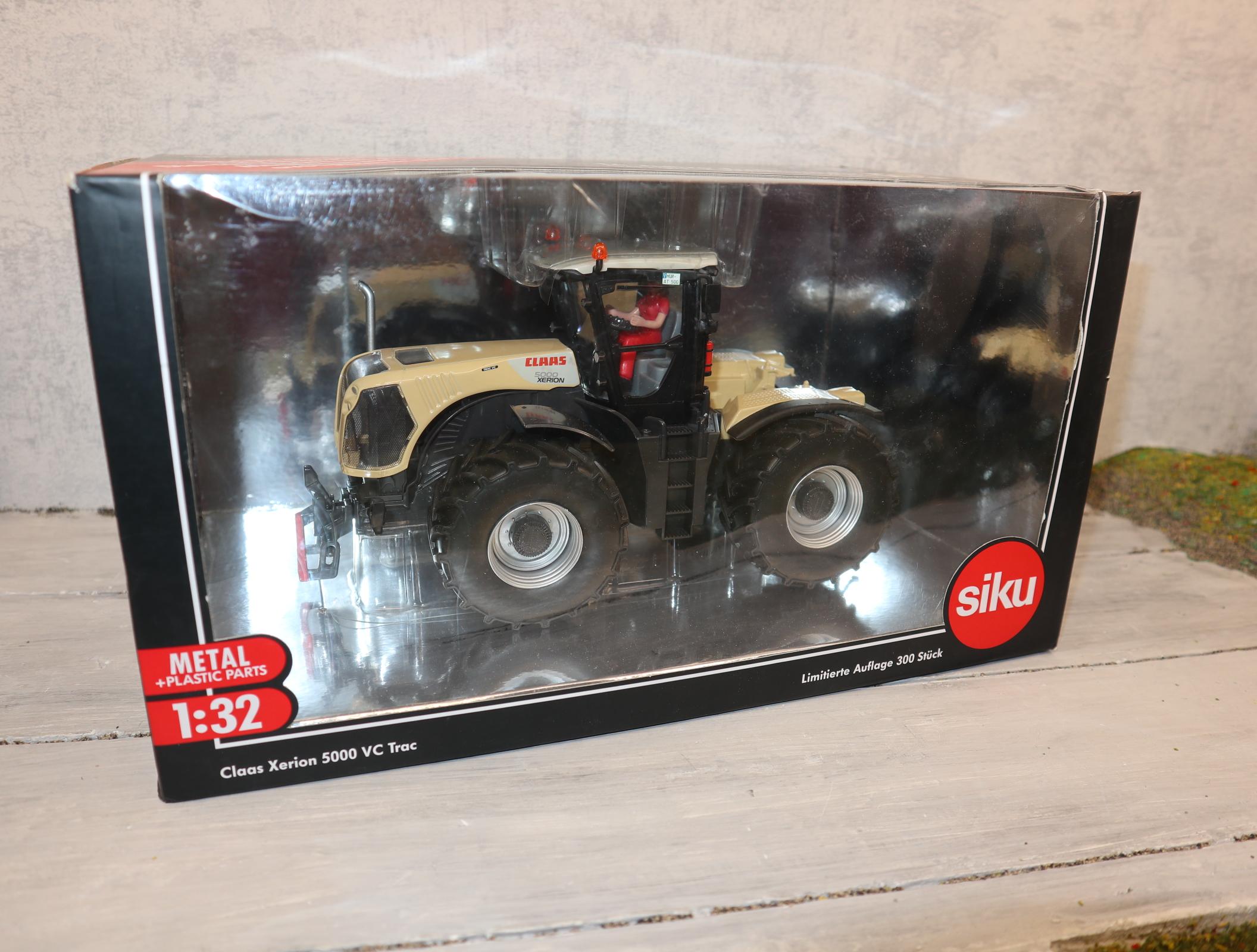 Siku 3271 1:32 Claas Xerion 5000 mit Zwillingsreifen Sondermodell STOTZ nur 500 Stück