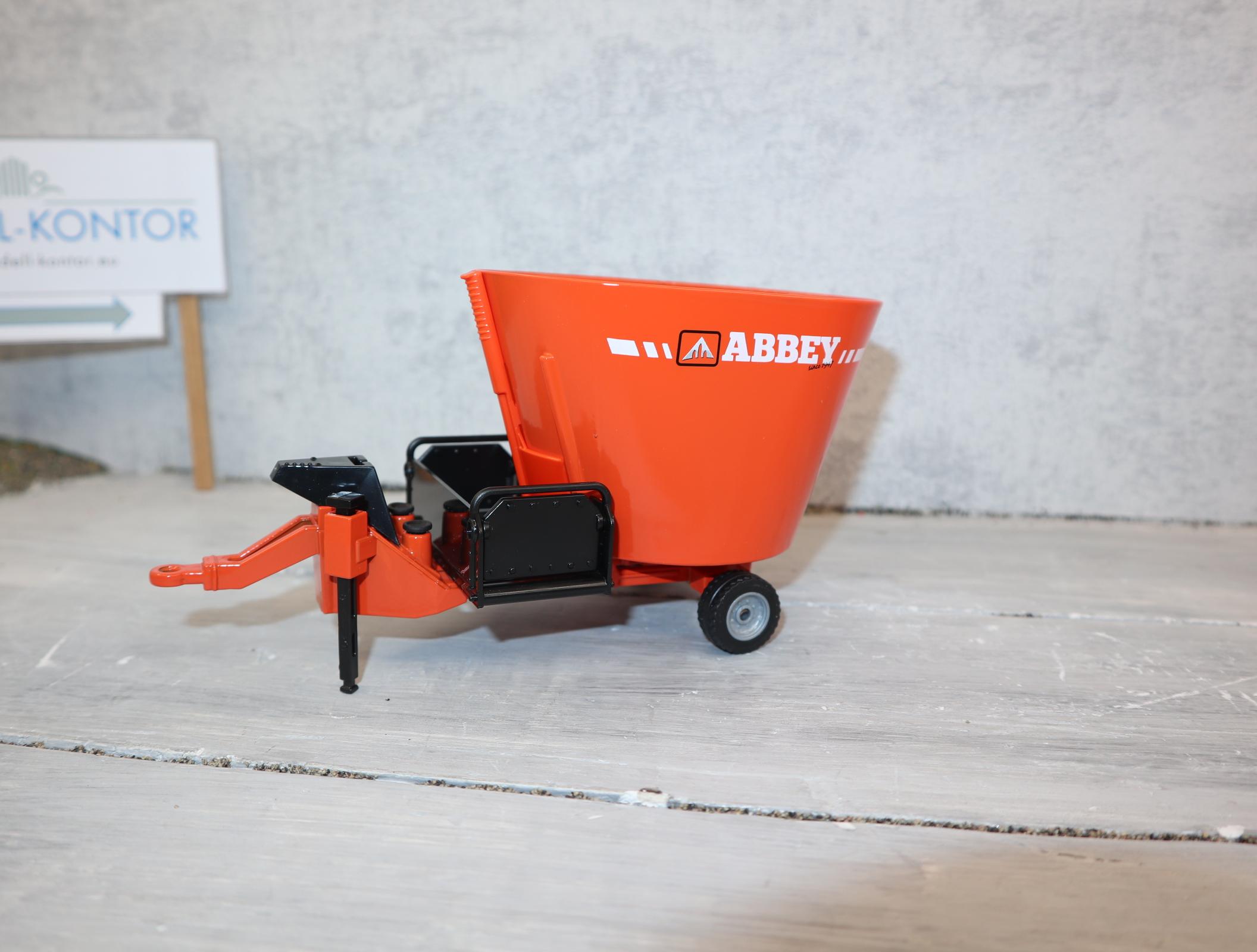 Siku 2450 1:32 Futtermischwagen ABBEY Werbemodell aus England