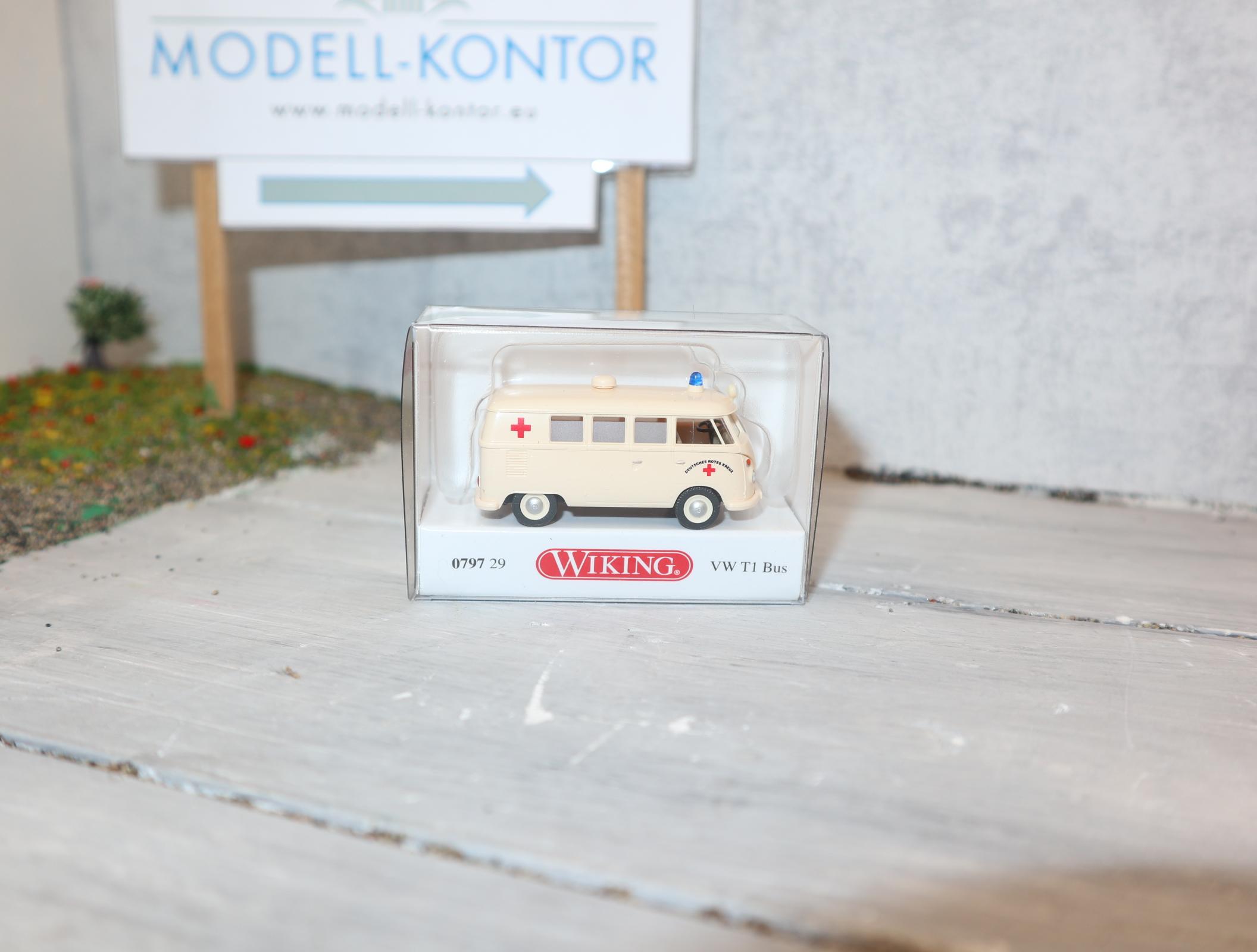 """Wiking 079729 1:87 VW Bus T1 """"DRK"""""""