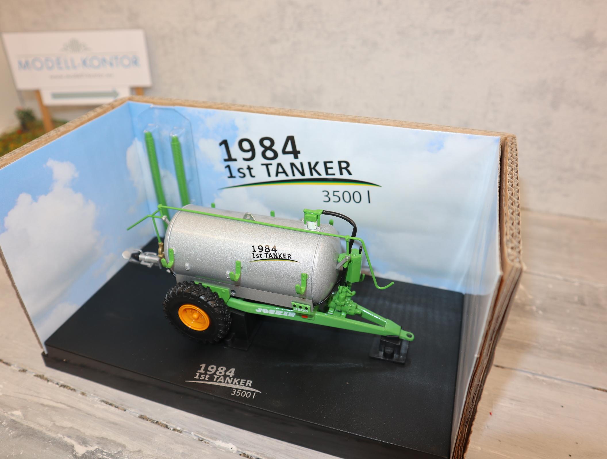 UH 4863 JOSKIN 1st Tanker von 1984 3500Liter Sonderedition zum 30-Jährigen in OVP
