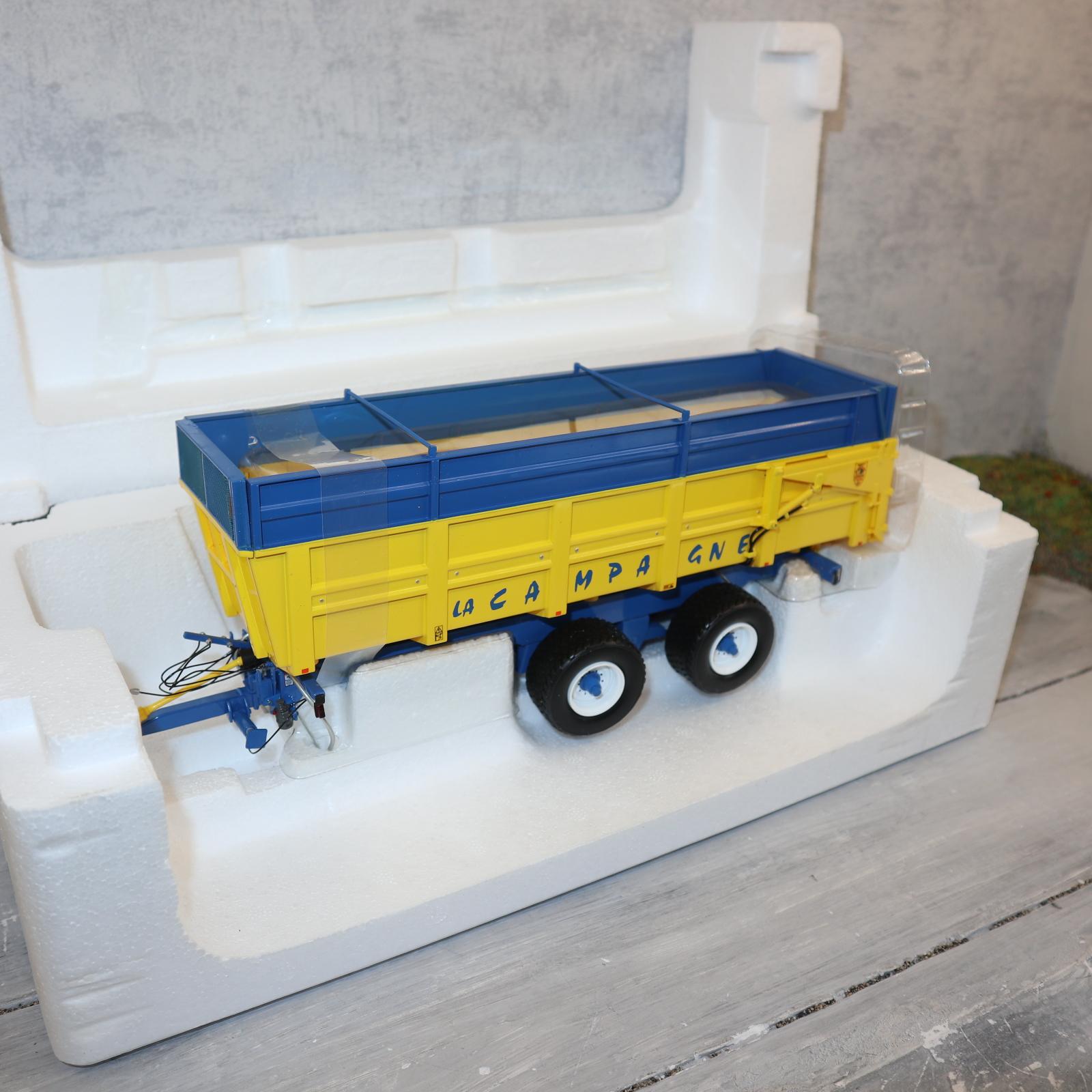 UH 68128 1:32  Benne LaCampagne Sondermodell gelb-blau neu in OVP