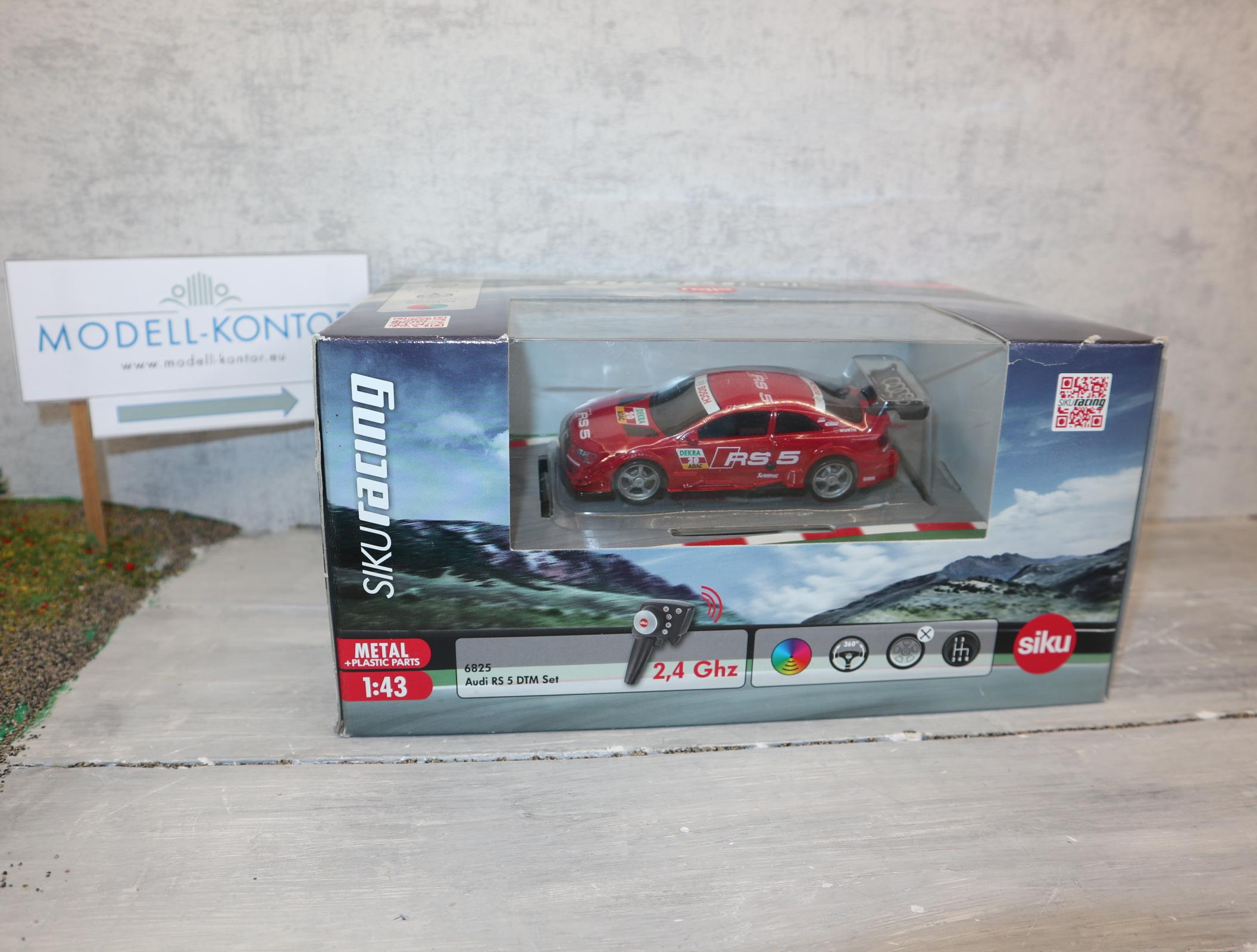 Siku 6825 1:43 Siku-Racing Audi RS 5  komplett in OVP