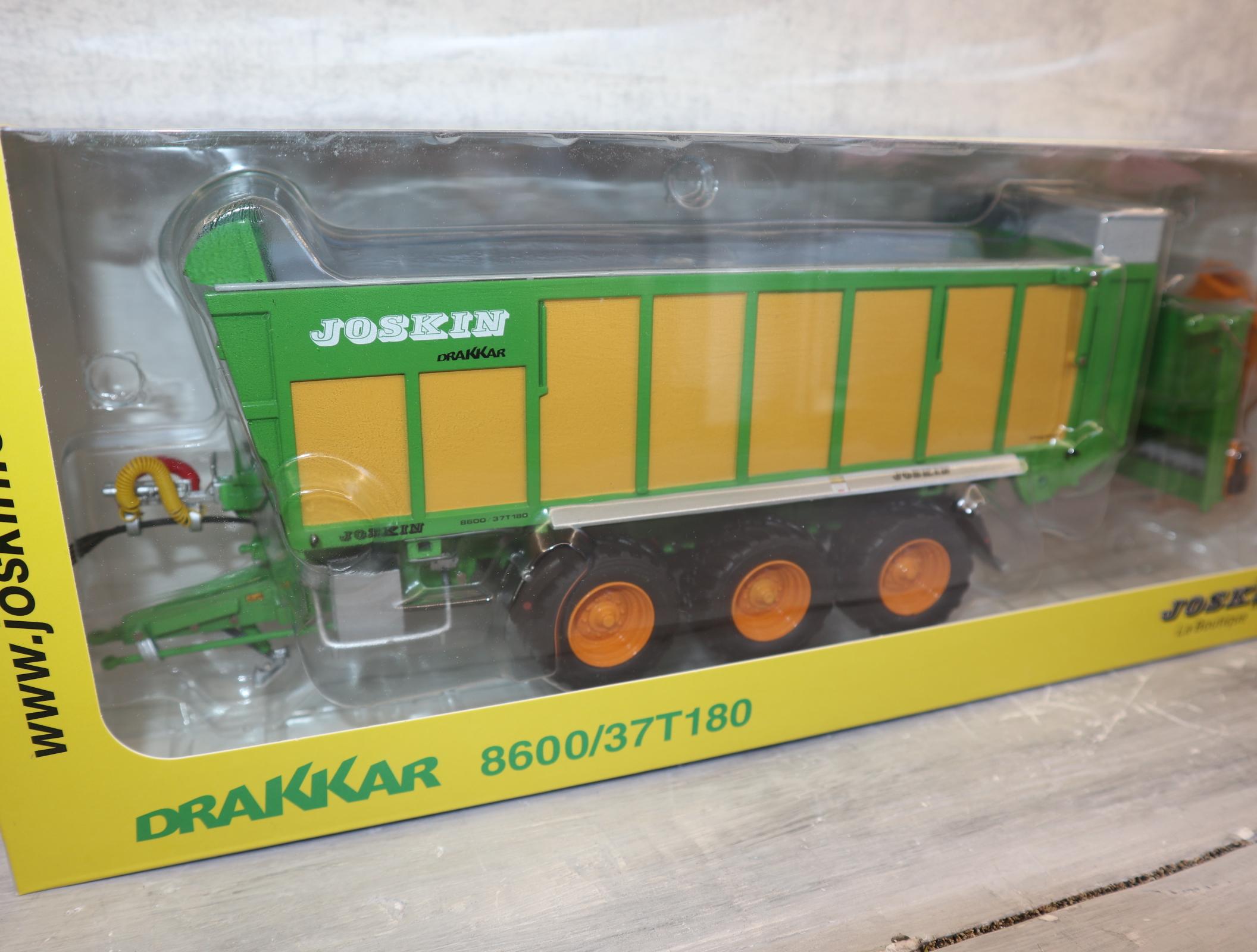 ROS 602267 in 1:32 Joskin Drakkar 86007T 180 mit Überladeschnecke in OVP