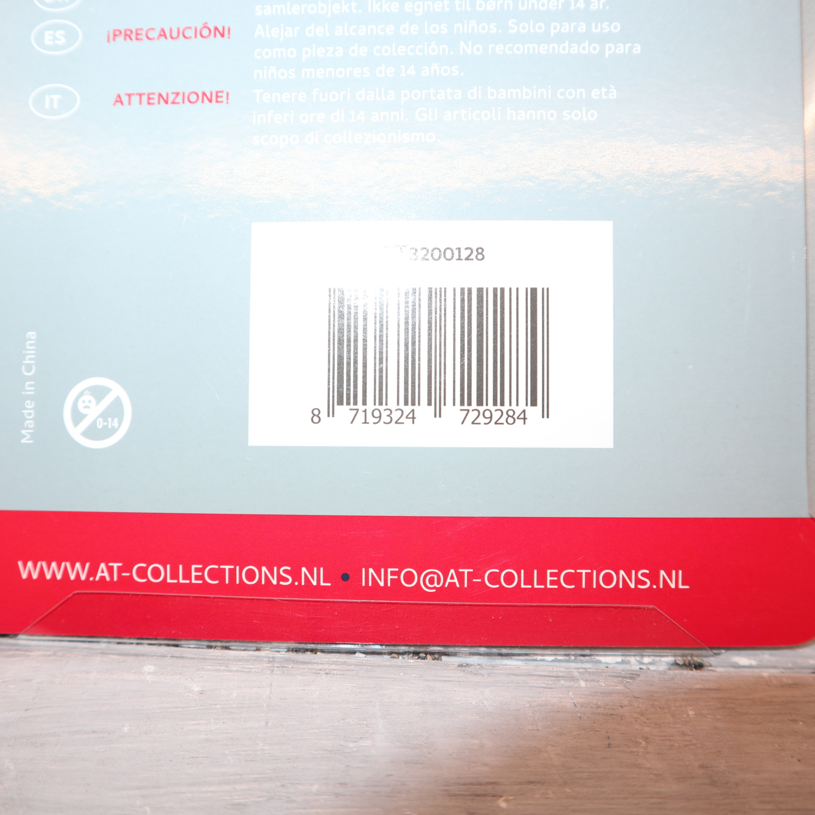 AT Collections AT3200128 in 1:32  MITAS Agriterra Breitreifen mit silberne Felge NEU in OVP