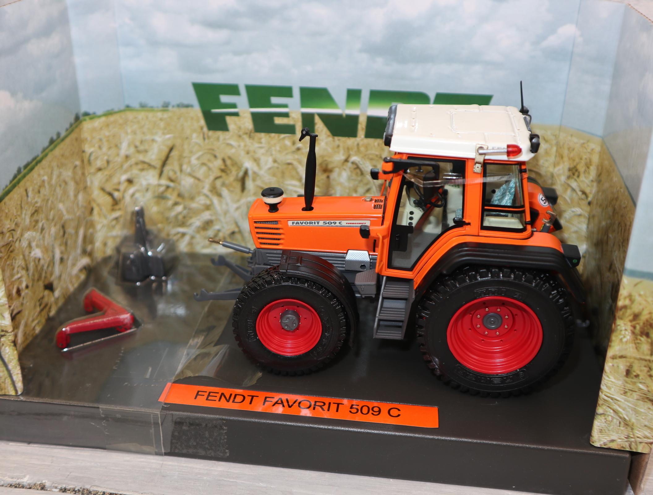 Weise-Toys 1111 Fendt 509 C Kommunal