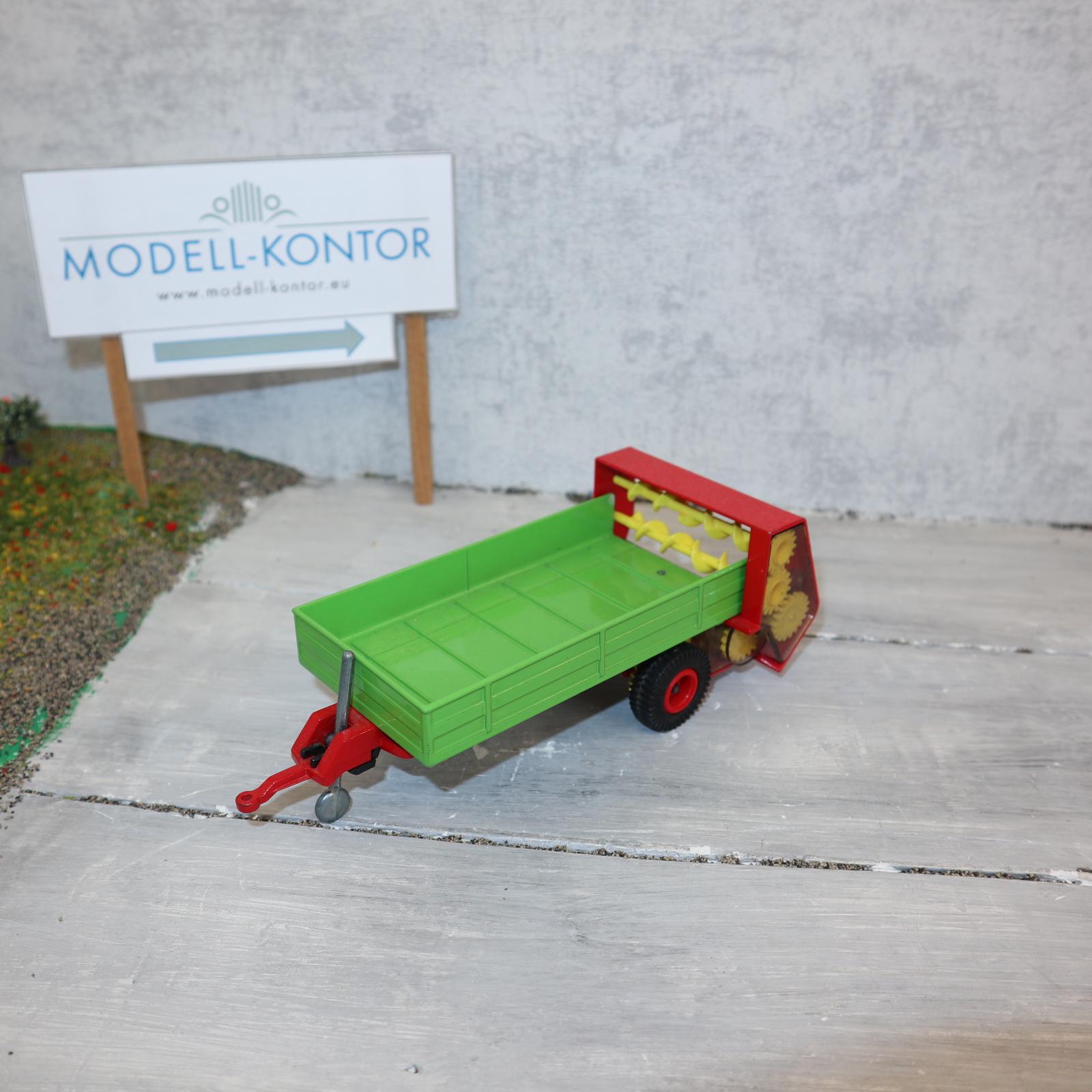 Siku 2553 in 1:32 Düngerstreuer Version 3 mit roten Felgen TOP ohne OVP