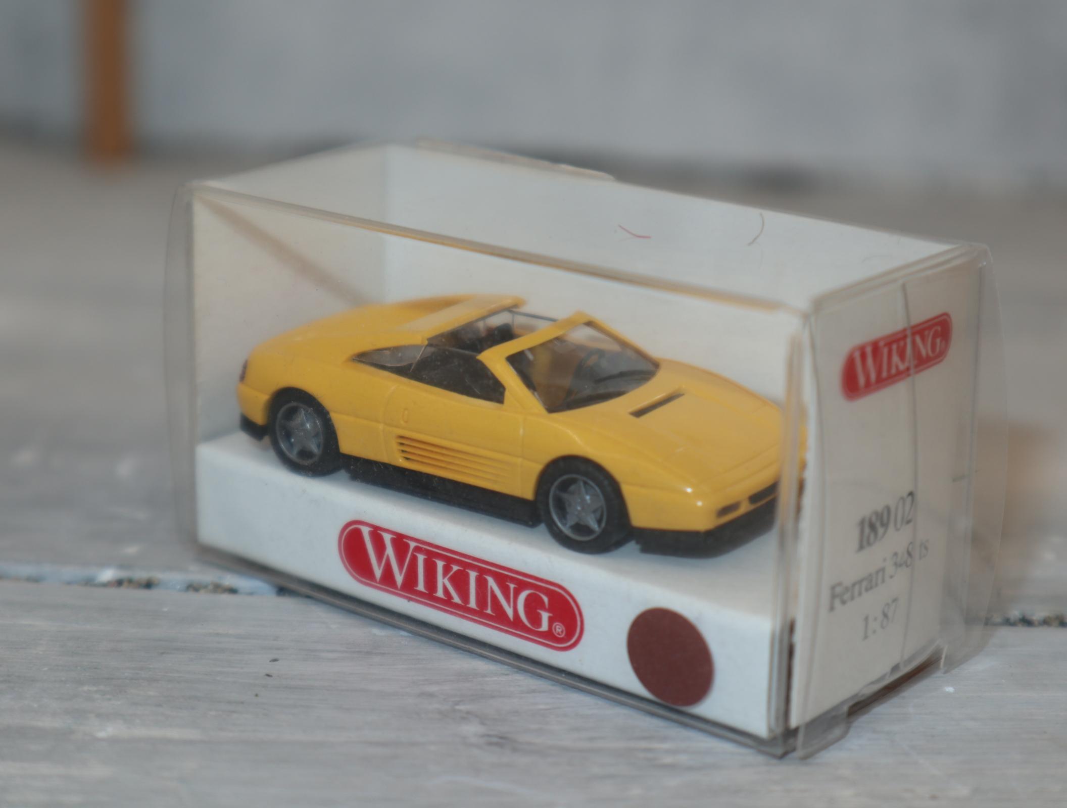 Wiking 18902 1:87 Ferrari 348 TS in gelb OVP