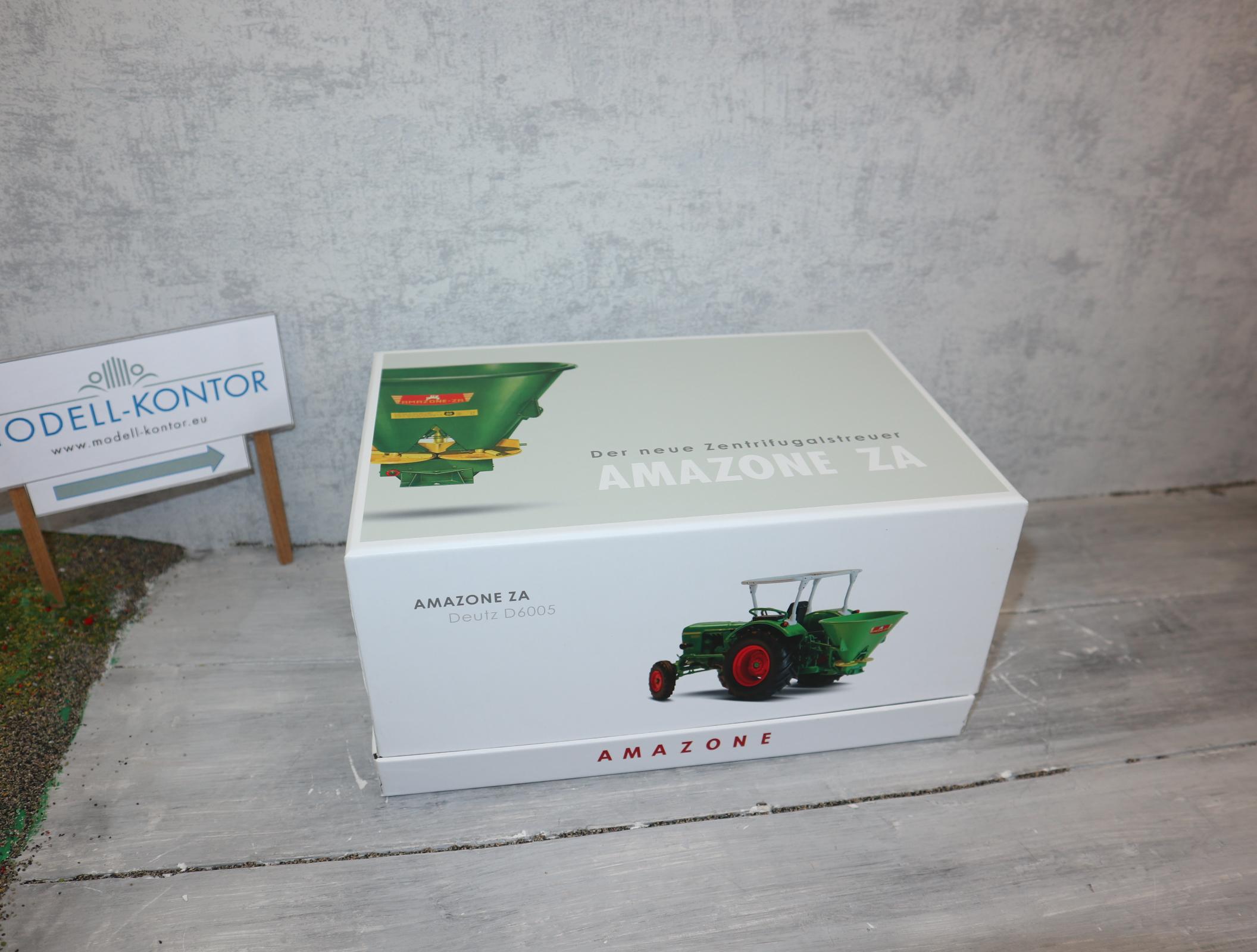 Universal Hobbies 5371 in 1:32 AMAZONE ZA mit Deutz D60 05 Sondermodell 1500 Stück in OVP