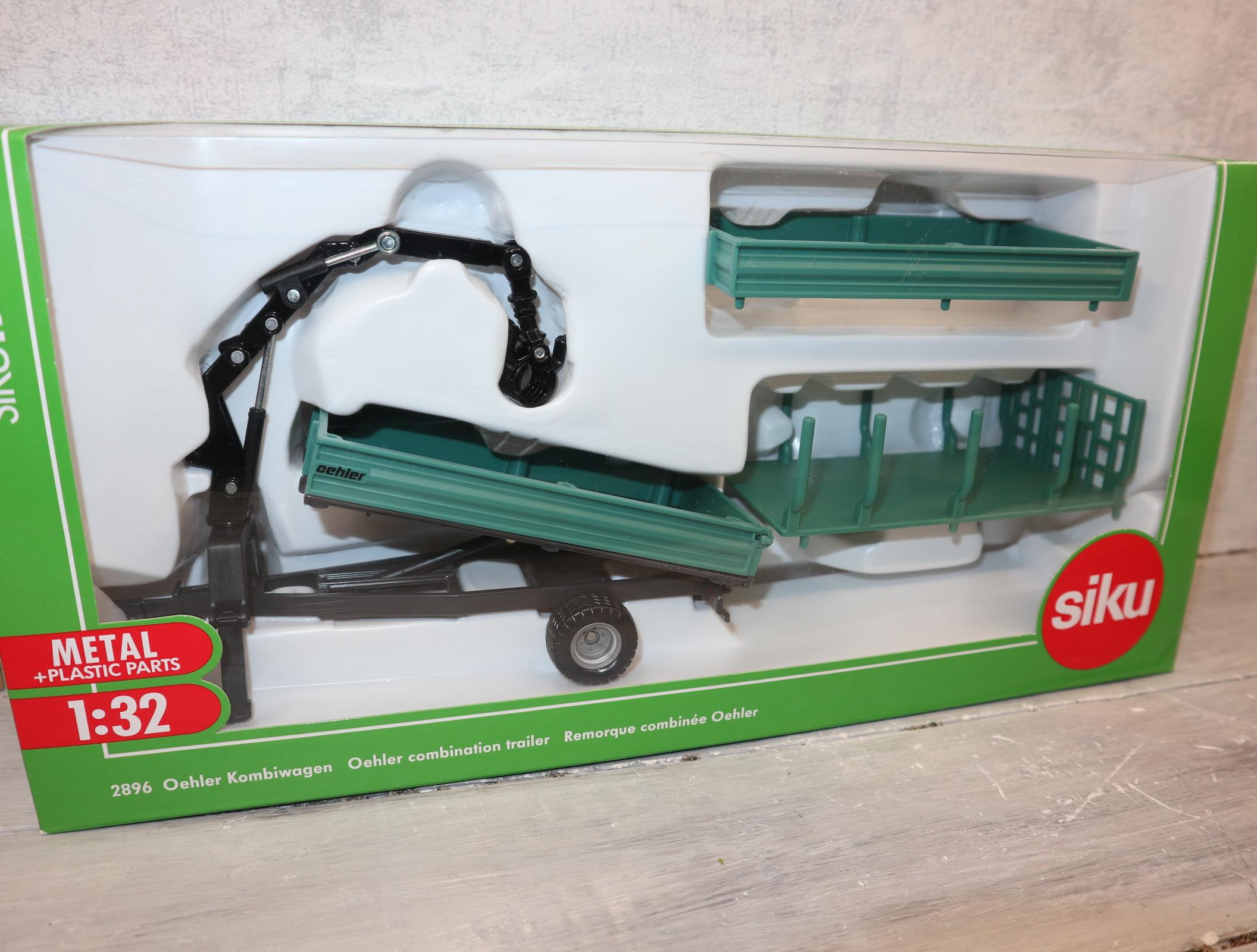 Siku 2896 1:32 Oehler Kombiwagen in grün in OVP