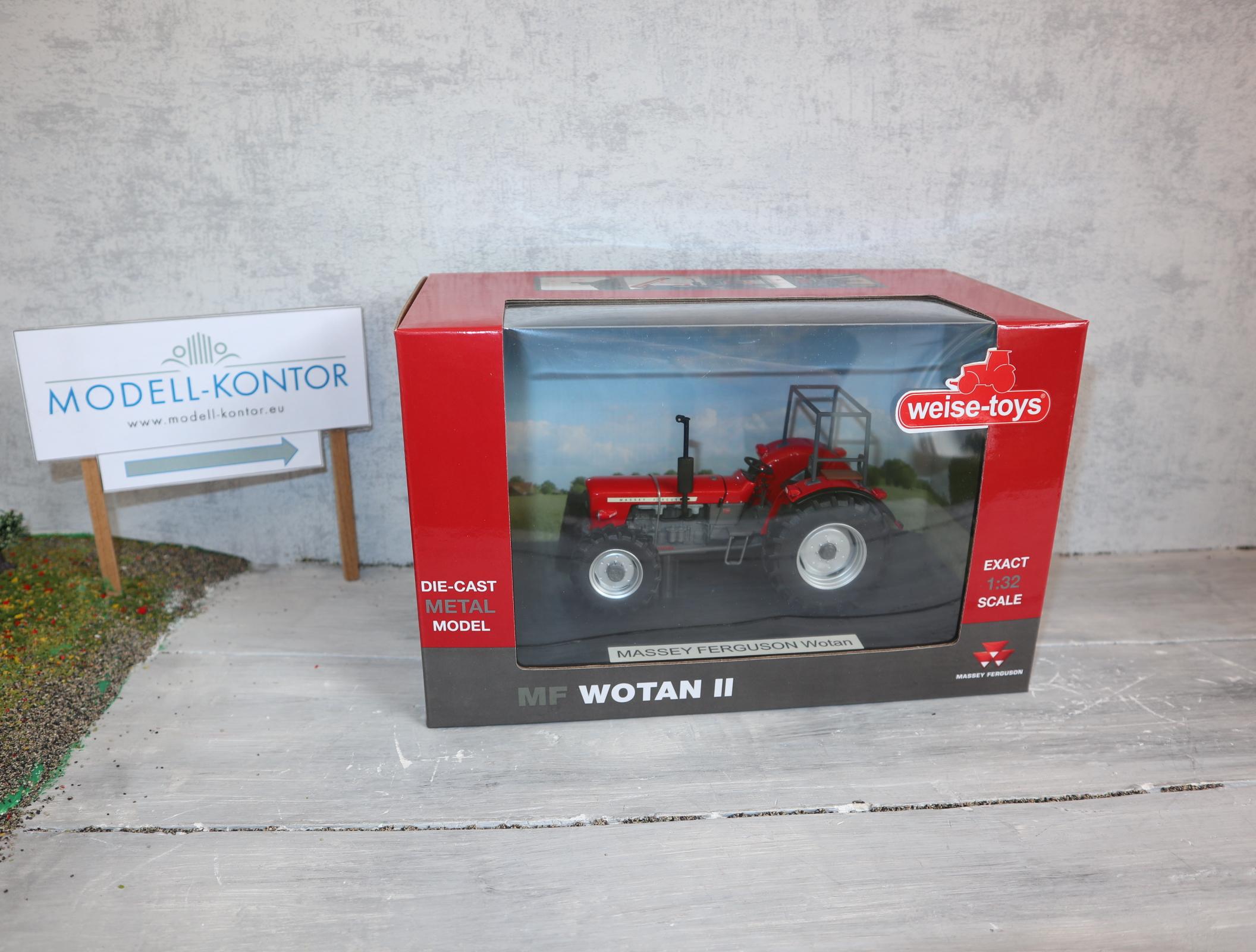 Weise Toys 1061 in 1:32 Massey Ferguson WOTAN II mit Überrollbügel