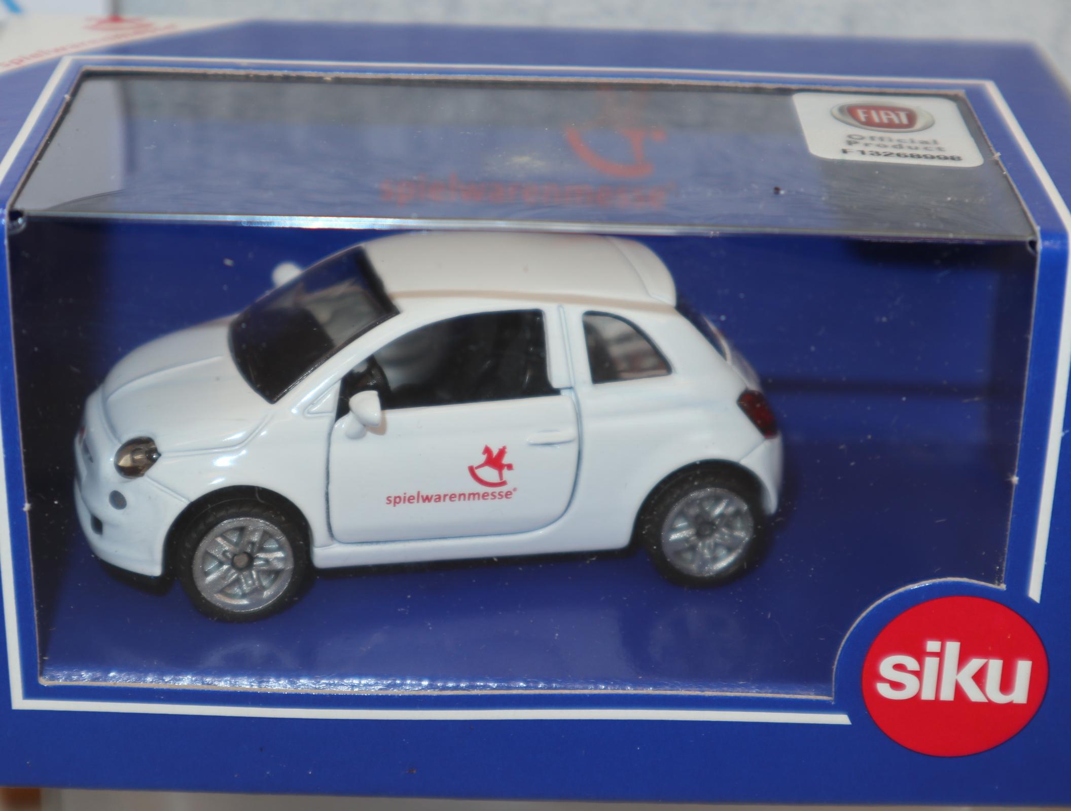Siku 1453 1:50 Fiat 500 Sondermodell Spielwarenmesse Nürnberg 2017  in OVP