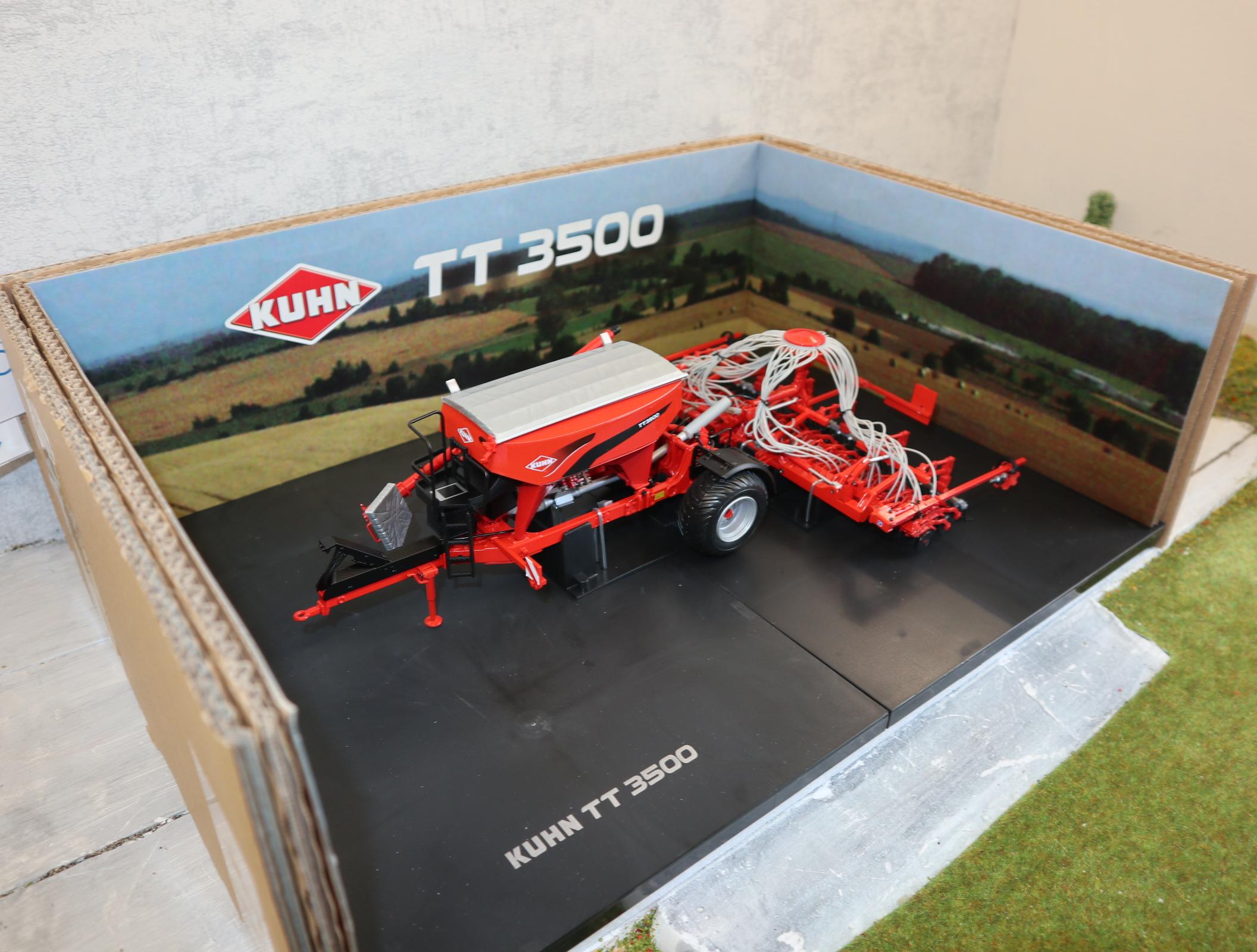 UH 4128 1:32  KUHN  TT3500 Säh- und Düngewagen neu in OVP